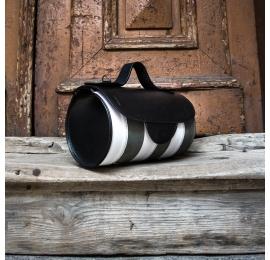 torebka meggy w trzech kolorach szarym białym i czarnym stylowa torebka od polskich projektantów ladybuq art