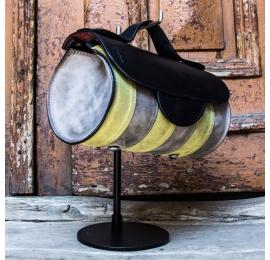 Torebka w trzech piękny, unikalnych kolorach od Ladybuq Art Studio skórzana torba na lato na co dzień