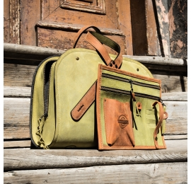 duża torebka na co dzień pepa w rozmiarze xl skórzana torba wykonana ręcznie przez ladybuq art