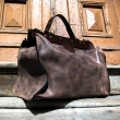 Handmade natural leather classic vintage style Brown medical bag laptop bag made by Ladybuq