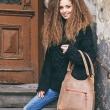 Le sac de magasinage marron conviendra à tout le sac en cuir indispensable fabriqué par Ladybuq Art