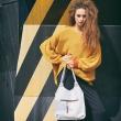 Biała torebka mała od Ladybuq idealna na wycieczkę za miasto lub do biura
