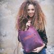 Mała torebka na laptopa lub zakupy idealna torebka na lato od Ladybuq Art