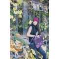 perfect laptop bag with phone pocket and long, detachable strap made by ladybuq art