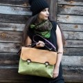 bag that can be personalized and adjusted to your laptop size made by ladybuq art