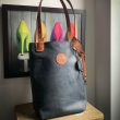 Zuza bag smaller size Navy Blue and Ginger