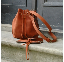 Orange Maja bag is unique bag that will certainly let you stand out from the crowd