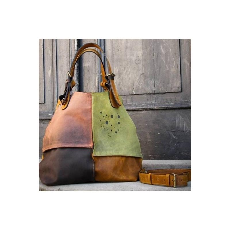 torba skórzana ręcznie wykonana oryginalna torebka w