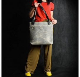 ręcznie wykonana torba skórzana, torba do pracy w 5 rozmiarach od ladybuq art