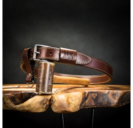 durable men's belt made out of natural high quality leather, gift to personalize