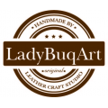Lusi handmade natural leather unique made by Ladybuq Art