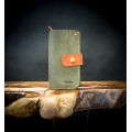 comfortable, functional leather wallet, handmade natural leather wallet