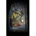 handy key holder in Brown color, handmade, original key cover
