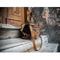 suede bag made y ladybuq art, perfect summer bag