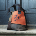 Alicja cztery kolory duża torba idealna na zakupy, do biura od polskich projektantów ladybuq art