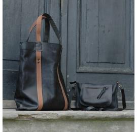 Oversize black bag