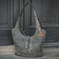 Handmade Ladybuq bag unique design and colour durable leather made by Ladybuq Art Studio