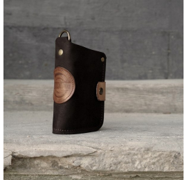 Wallet Barcelona black/ dark brown