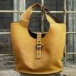 Torebka skórzana na ramię do ręki duża poręczna torba od Ladybuq Art