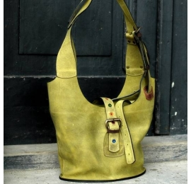 Shoulder bag Ladybuq unique design handmade natural leather bag high quality leather