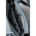Kuferek z kopertówką czarny półmat i szary