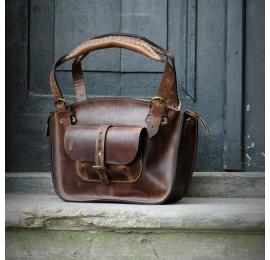 Oryginalna torebka od Ladybuq Art Kuferek z kieszonką na iPhone i na klucze