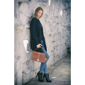 Ella bag in Ginger colour made by hand bg Ladybuq Art out of finest real leather