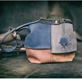 Alicja ręcznie wykonana torba z wysokiej jakości skóry Ultimate Edition cztery kolory z zamkiem i jednym paskiem