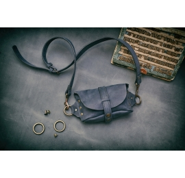 Fanny Pack / small shoulder bag / Dark Navy Blue