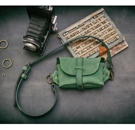 Nerka / torebka przez ramię / Zielona