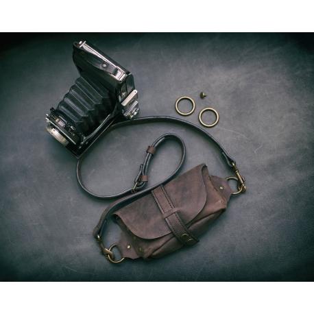Nerka / torebka przez ramię / Czekolada