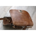 Elegant small Ella bag made by Ladybuq Art Studio out of highest quality natural leather
