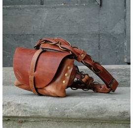 Nerka / torebka na ramię Ruda rozmiar M