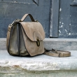 Beige Pati bag is perfect choice for people that like well made leather products that serve for years