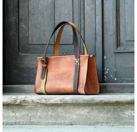 Lili w pięknym Rudym kolorze unikalna mała torba idealna na co dzień