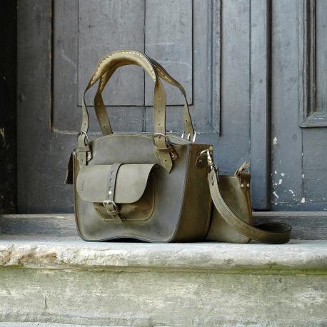 Tote bag ladybuq original, unique bag with a pocket, a strap and a clutch