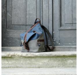 Plecak na co dzień i torebka do pracy w jednym wykonany z matowych skór od Ladybuq Art