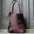 Zuza Puzzle unique and stylish bag made by Ladybuq, bag made out of highest quality natural leather