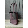 Zuza Puzzle unikalna i stylowa torba od Ladybuq, torba wykonana z wysokiej jakości naturalnej polskiej skóry