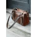 Natural leather handmade Lili bag unique design