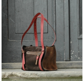 Lili Dark Brown/Brown colours unique bag for every occasion