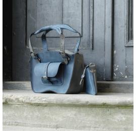 kuferek ręcznie wykonana torba z naturalnej skóry najwyższej jakości torba idealna w podróż lub do pracy