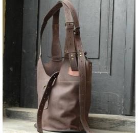 Torba z naturalnej skóry Ladybuq oryginalna duża torba w stylu oversize wykonana przez Ladybuq Art