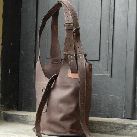 8246ee5d808ee torebka ręcznie wykonana unikalna torba na ramię z długim paskiem torba od  Ladybuq