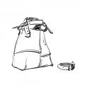 Torebka skórzana Alicja cztery kolory brąz. Oryginalna i niepowtarzalna ręcznie wykonana torba na ramię Ladybuq