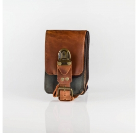 Leather phone case hip bag 10