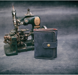 DUBLIN Wallet navy / 12