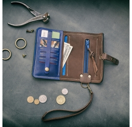 MEXICO Wallet sapphire / 19