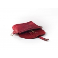 Fanny pack / cross body leather bag Brown
