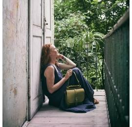 Torebka lub plecak Molly większy rozmiar kolor limonkowy